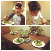 Dinner with Alexander Flores (Winston)