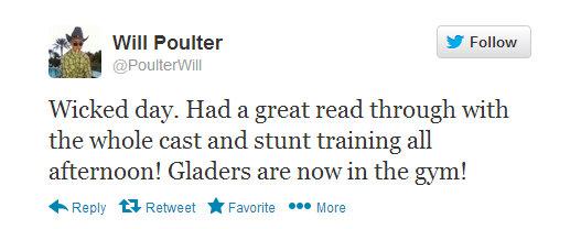 will poulter tweet
